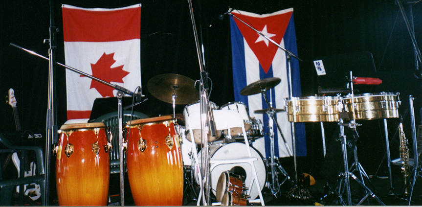 Instruments and flags